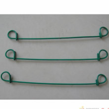 Verzinkter Draht + PVC beschichteter Schleifenbindungsdraht