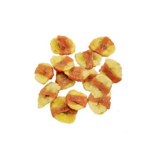dry pet food-natural chicken and banana dog food snack