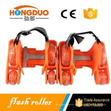Professional roller skates flashing wheel for sale