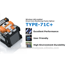 Sumitomo Flachbandkabel und Handy TYPE-71C + mit Handheld made in Japan