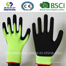 13 Gauge Nylon Liner, Nitrilbeschichtung, Sandy Finish Sicherheits Arbeitshandschuhe (SL-NS107)