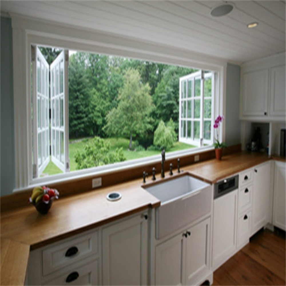 Aluminum Bi Fold Window