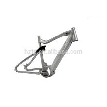 Marco de aleación de aluminio de alta calidad para bicicletas de montaña con neumáticos de grasa con suspensión completa