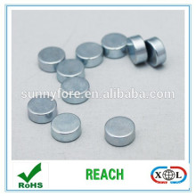 disc shaped n35 magnets for handbags