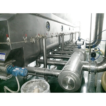 new design vibrating fluid dryer for loose granule