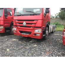 Cabeza de tractor diesel HOWO 375HP camión tractor usado