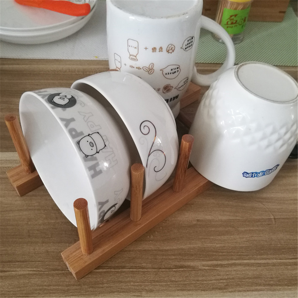 cheap wooden soild bowl shelf
