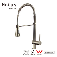 Haijun artículos baratos para vender cUpc Pull Down cuerpo de latón sola manija grifo de la cocina