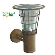 Imperméable à l'eau CE extérieure solaire LED applique murale pour pelouse lamp(JR-2602-B)