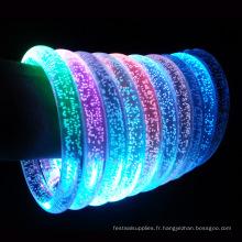 bracelet acrylique led de haute qualité
