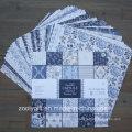 """Parisienne Blue 12X12 """"Бумажный альбом с вырезом узорной бумаги Pad"""