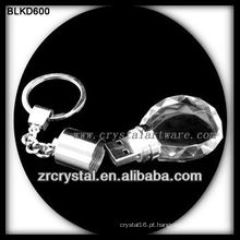 chaveiro de cristal flash disk USB