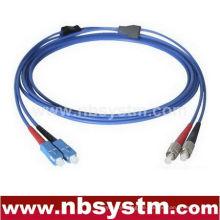 Gepanzerte SC-FC Single-Modus Duplex Fiber Optic Patch Cord