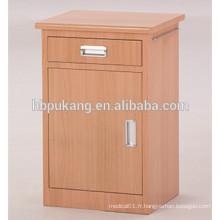 Cabinet de chevet dans l'hôpital
