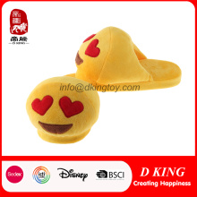 Emoji Moda Caliente suave peluche deslizador Toy Emotion relleno