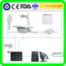 Détecteur de rayons X sans rayons X / détecteur de rayons X à rayons X dans la clinique thérapeutique médicale 14''x 17 ''