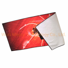 Printed Logo Embroidery Face Bath Hand Rally Towel, Cotton Beach Fitness Yoga Travel Woven Towel Fast Dry