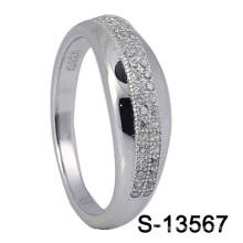 925 anéis da forma CZ da forma da prata esterlina S-13567)