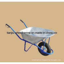 Farm Tools Heavy Duty Construction Galvanized Wheelbarrow Wb6413