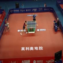 Tapete Enlio de 5,5 mm para tênis de mesa com ITTF