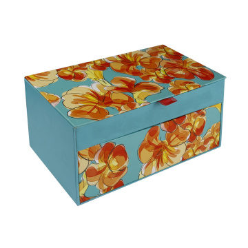 Drawer luxury custom  folding  jewelry box