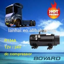 r134a Boyard brushless dc compresseur air conditionné kit d'air conditionné pour les voitures 12 volts rv climatiseur