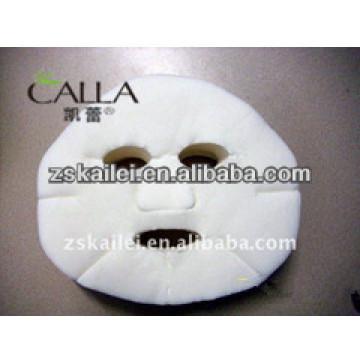 máscara facial de tela
