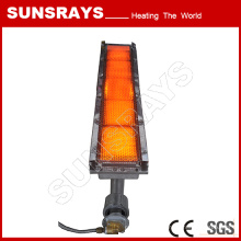 Infrared Gas Heater for Carpet Baking Glue Line