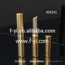 Big Round Wholesale Empty Gold Aluminum Lipstick Tube