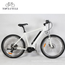 36V 250W suspension electric mountain bike with bafang 8fun mid motor bicycle china