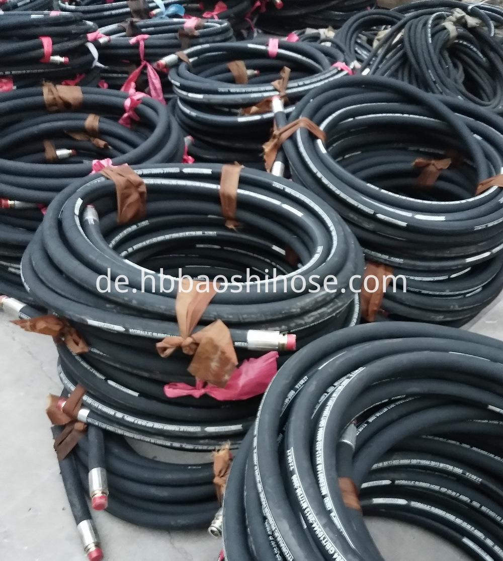 Rubber Hose Assembly for Coal Stand