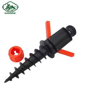 Parasol de praia ABS Ground Screw Pole Anchor