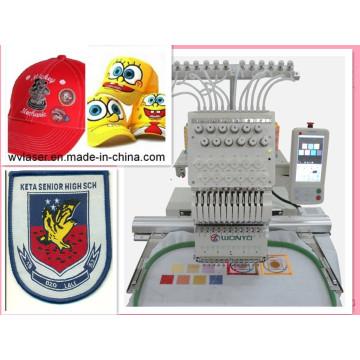 Computer Maya Embroidery Machine Single Head Cap Embroidery Machine 12 Colours