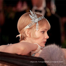 2017 Günstige Elegant Hochzeitsfeier Braut Kristall Perlen Kronen