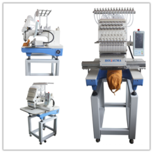 2016 Автоматическая вышивальная машина с одной головкой для продажи с 15 цветами