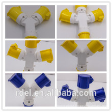 LP-31 CE INDUSTRIAL EXTENSION LEAD PLUG COUPLER SPLITTER 110V 16A 32A