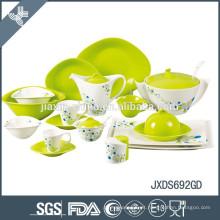 Melhor qualidade resistente ao calor conjunto de utensílios de mesa de cerâmica por atacado