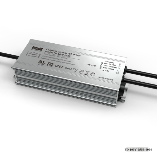 Driver LED haute tension 480Vac 100W 30-50Vdc