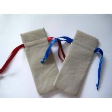 Blank Environmental Protection Bag with Ribbons (GZHY-DB-017)