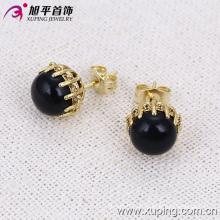 Moda jóias 14k banhado a ouro delicado brinco