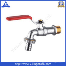 Nickel Plated Brass Sanitary Bibcock Tap with Washing Connector (YD-2001)