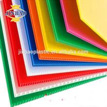 JINBAO colorido 3mm 5mm pp corrugado armario plástico hojas
