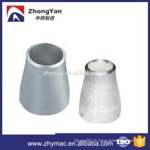 redutor de encaixe de tubulação com redutor de aço inoxidável