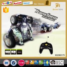 2015 Venta al por mayor artículos de regalo niños juguete coche transformar robot de juguete