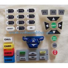 Conductive Carton Pill Silicone Keypads