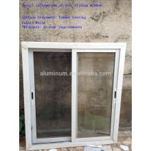 Perfis de alumínio de extrusão para janelas deslizantes