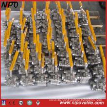 Forged Stainless Steel Thread NPT Ball Valve