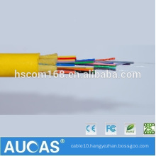 China Manufacturer PVC Jacket Single Mode Optical Cable GJFJV 24 Core G.652 Fiber Optic Cable