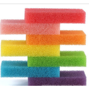 Esponja de filtro de color espuma