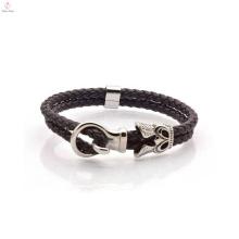 Bulk Custom Fashion Leder Wickelarmband für Herren